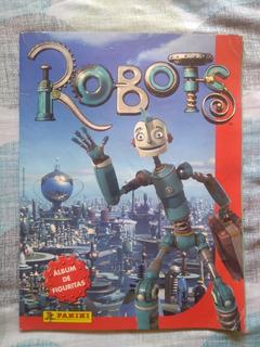 Album De Figuritas Robots Panini