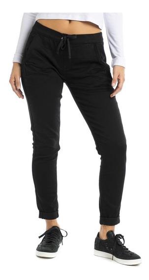 Pantalón Denizen® Mujer Jogger Negro Black Pearl