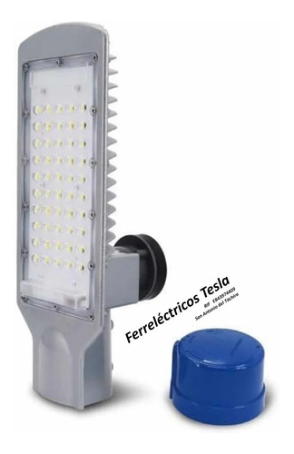 Lámpara Led Solar Alumbrado Publico 30w