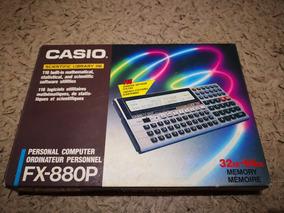 Casio Fx-880p Na Caixa E Com Manual