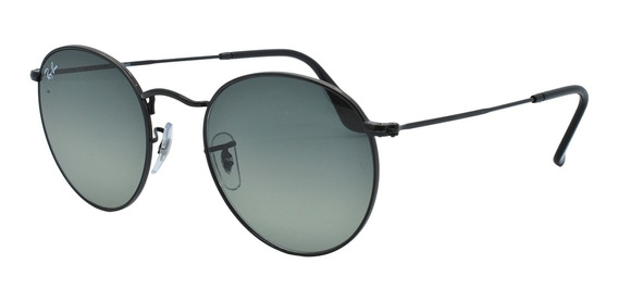 Ray Ban Rb3447-nl 002/71 53 Round Metal - Lente 53mm