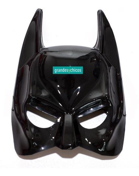 Máscara Batman Semirígida Careta Ideal Disfraz