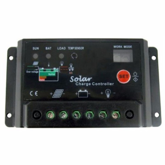 Controlador De Carga Para Painel Solar 20 Ampères 20a