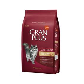 Ração Granplus Gatos Adultos Castrados Frango E Arroz - 3kg
