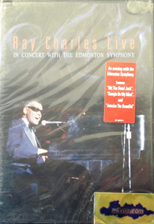 Ray Charles - Live In Concert Nuevo Cerrado Importad Usa Dvd