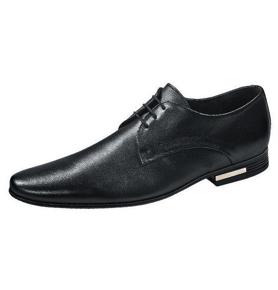 Zapatos Caballero Marca Uomo Di Ferro Mod 8 1700 Negro