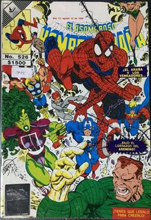 Comic El Asombroso Hombre Araña #526