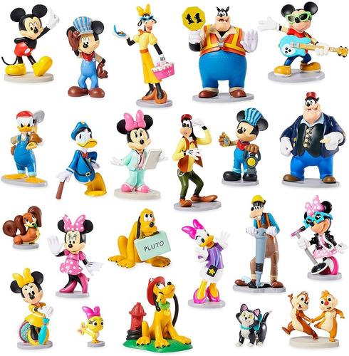 Disney Mickey Mouse E Amigos Mega Figurine Set Original