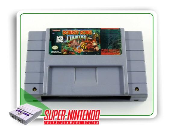 Donkey Kong Country Super Nintendo Snes Original