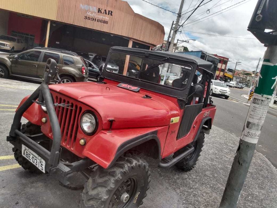 Jeep Willys 1967 4cc 4x4 Reduzida Funcionando!! $19990,00