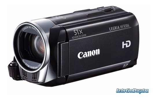 Filmadora Canon Legria Hf R 306 Full Hd Pouquissimo Usada