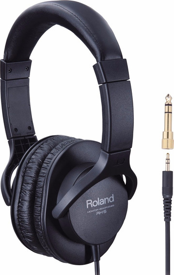 Headphone Fone Roland Rh5 Over Ear | Nfe | Original