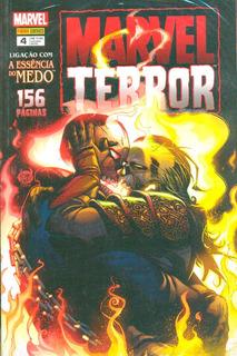 Hq Marvel Terror 4 A Essência Do Medo - 156 Páginas - Lacrad