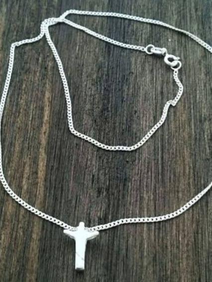 Cordão Cristo Redentor De Prata 950