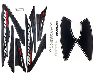 Faixas / Kit Adesivos Honda Xr250 Tornado 2008 Preta