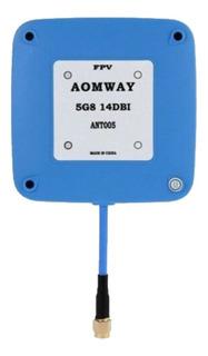 Antena Fpv Aomway 5g8 14dbi Ant005 Conector Sma Male Macho