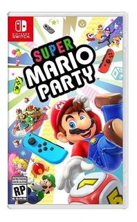 Super Mario Party Nintendo Switch Nuevo Fisico Envio Gratis