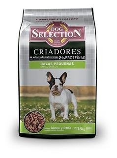 Dog Selection Criadores Raza Pequeña X15kg