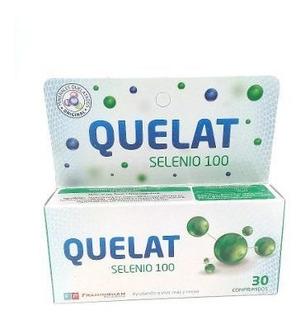Quelat Selenio 100 Minerales Suplemento Antioxidante X 30