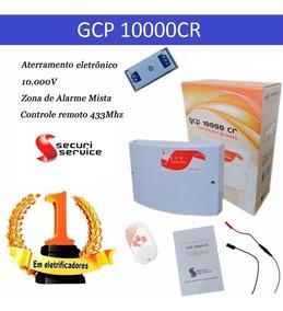 Central De Cerca Elétrica E Alarme Gcp 10000cr Protetor Rede