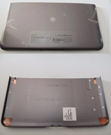 Tampa Traseira Tablet Motorola 10.1pol Mz604 Original Met.