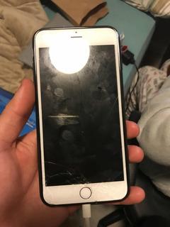 iPhone 6 Plus 128 Gb, Tela Trincada