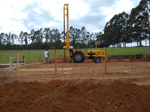 Trator Perfuratriz Hidraulica Massey Fercuson 15 Mts