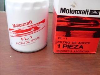 Filtro De Aceite Para Ford Falcon 62/91 Motorcraft Fl-1