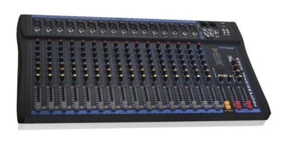 Mesa De Som 16 Canais Oneal Mixer Omx162 Usb
