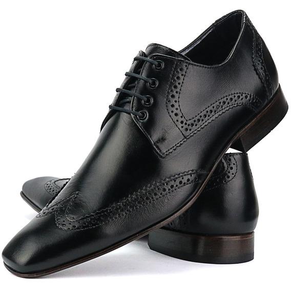 Sapato Social Bigioni Em Couro Nobre Lançamento Blackfriday