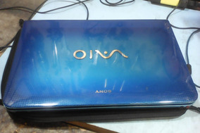 Notebook Sony Vaio I3 4gb De Memoria E 250gb De Hd Ten Que