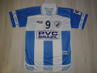 Camisa De Jogo Do Londrina 2003 Karilu #9 Pvc Tintas Viscor