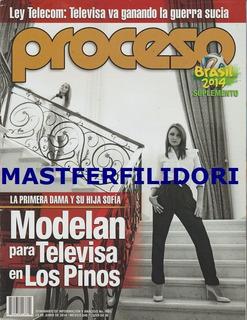 Angelica Rivera Sofia Castro Revista Proceso Junio 2014