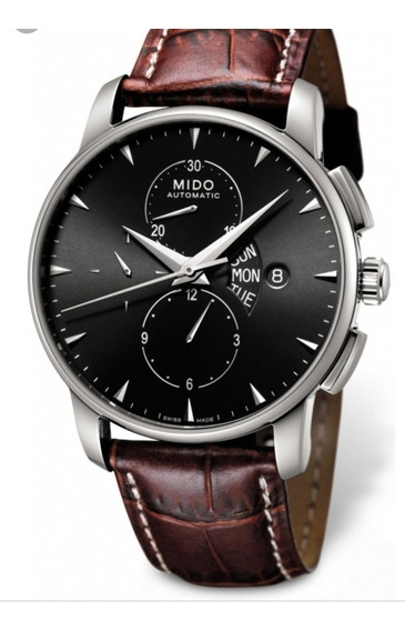 Relógio Mido Baroncelli Crono Automático Novo