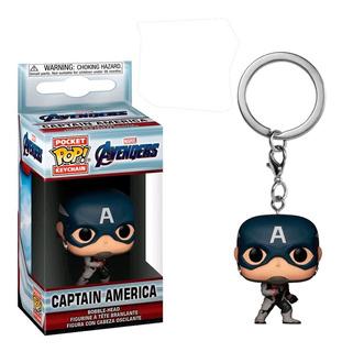 Capitan America Endgame Pop Funko Keychain Llavero