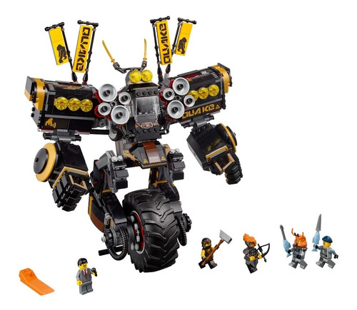 Imagen 1 de 2 de Lego Ninjago Movie Quake Mech 70632