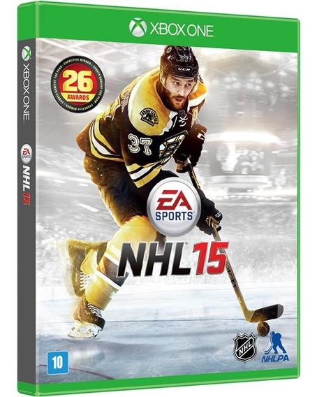 Jogo Nhl 15 Xbox One - Ea Sports - Original Lacrado
