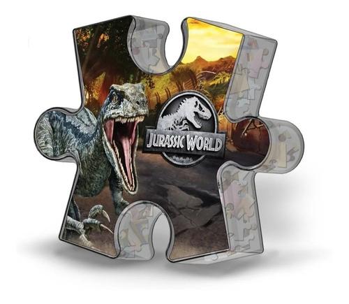 Rompecabezas Jurassic World Puzzle 48 Piezas Dinosaurios Edu