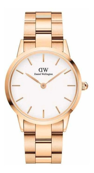 Daniel Wellington | Iconic Link 36mm ( R. Gold / White )