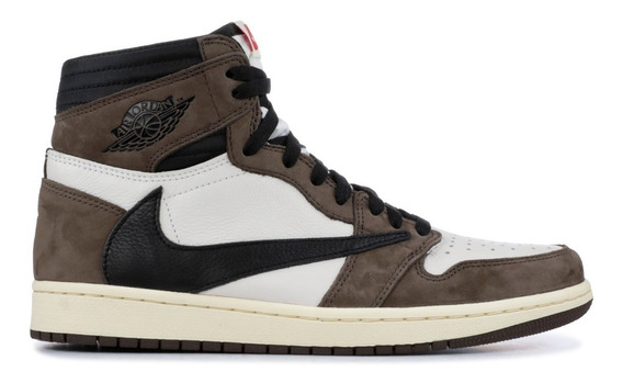 Tenis Nike® Jordan 1 High Travis Scott [100% Originales]