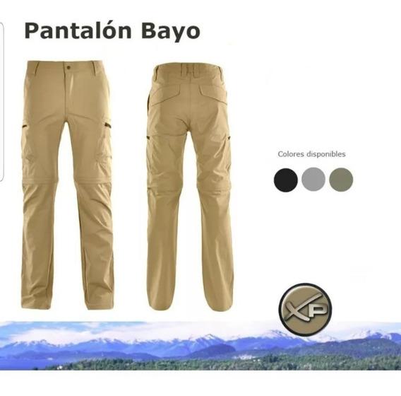 Pantalón Trekking Unisex Explora Bayo Desmontable