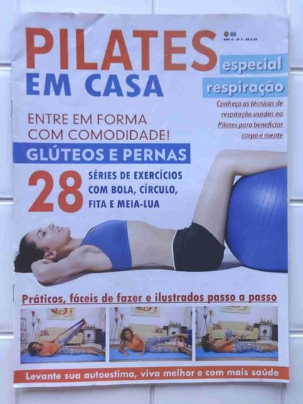 Revista Pilates Em Casa Nº 4 - 28 Exercícios - Glúteos