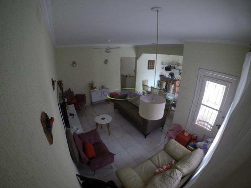 Imagem 1 de 21 de Casa Com 3 Dorms, Boqueirão, Santos - R$ 1.1 Mi, Cod: 64152904 - V64152904