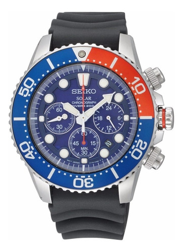 Relógio Seiko Solar Chronograph Ssc031