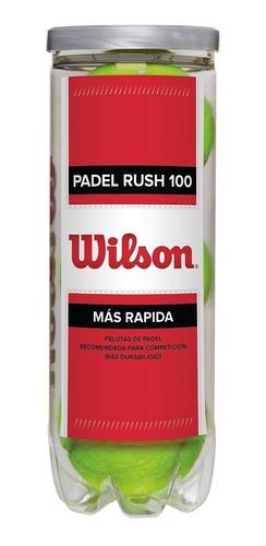 Imagen 1 de 3 de Pelotas Para Padel Wilson Pro Padel Pelota De Competencia