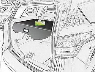 Palomera Para Ford Escape 2013 - 2018 En Color Negro