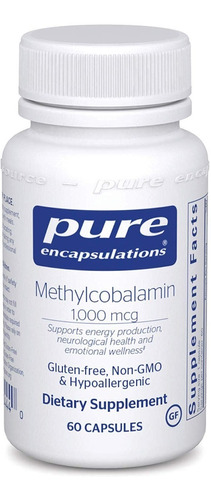 Pure Encapsulations Methylcobalamin Sist Nervioso Saludable