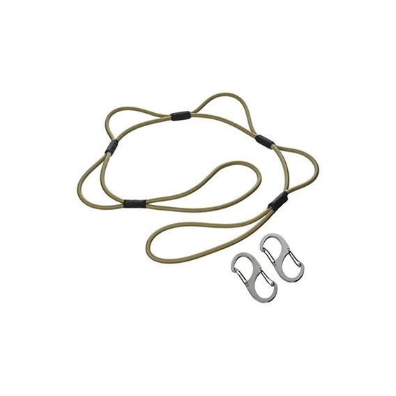 Looprope 3lrt-c-c Tan 3 Tie Down