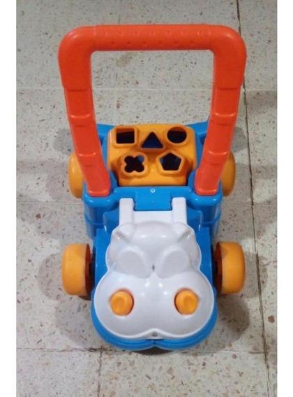 Andador Caminador Hipopotamo Feliz Calesita @ Mca