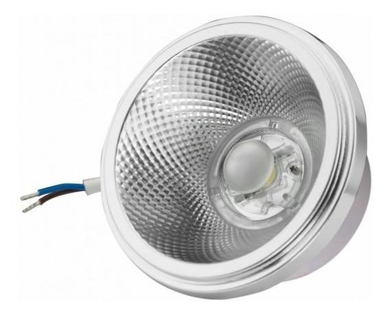 15 Lâmpada Led Ar111 12w Embutir Branco Quente 2700k G-light